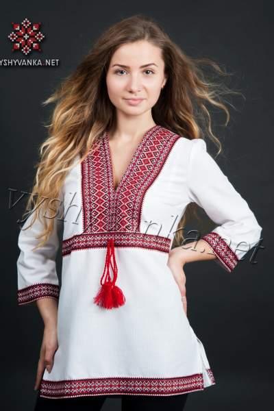 Вышиванка туника женская, арт. 0010