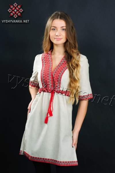 Туніка з вишивкою жіноча, арт. 0014