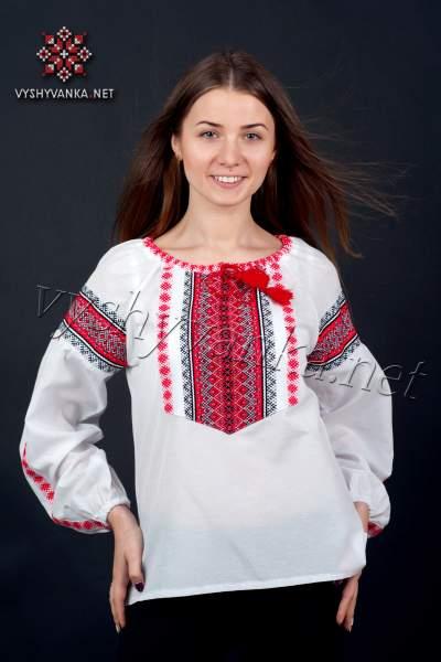 Украинская вышиванка женская, арт. 0042