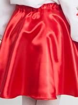 Атласная юбка на девочку, арт. 0097