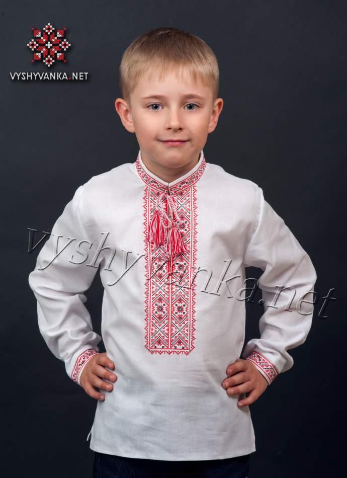 Сучасна вишиванка для хлопчика, арт. 0103