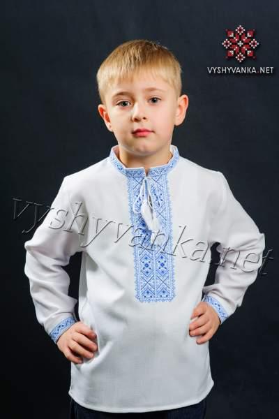 Детская вышиванка на мальчика, арт. 0104