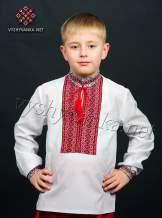 Вышиванка для мальчика тканая нашивка, арт. 0111