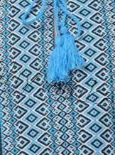 Вышиванка с тканой нашивкой на мальчика, арт. 0112