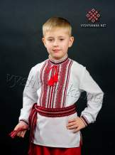 Вышиванка в украинском стиле на мальчика, арт. 0114