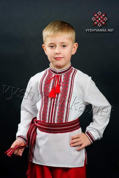 Вишиванка в українському стилі на хлопчика, арт. 0114