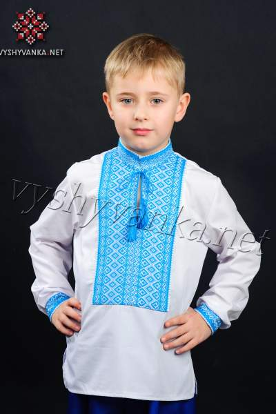 Украинская вышиванка на мальчика, арт. 0115