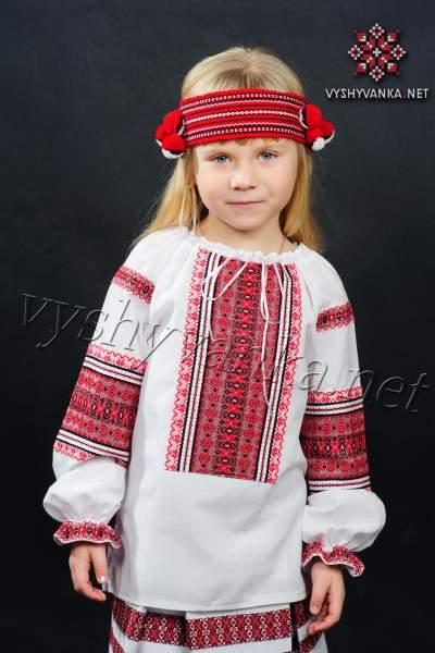 Вишиванка на дівчинку, арт. 0143
