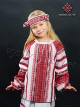 Українська вишиванка на дівчинку, арт. 0153