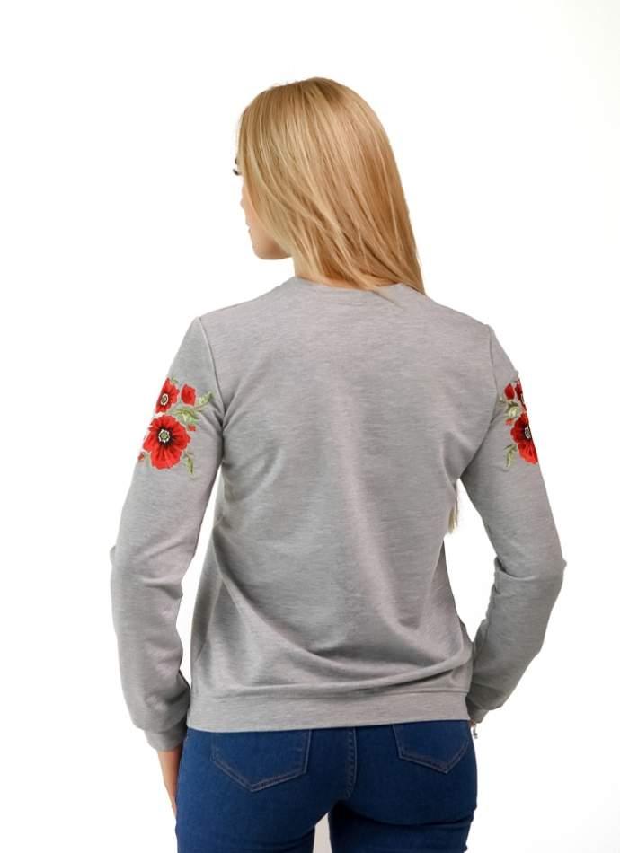 Кофта с вышивкой Горизонт Роз, арт.6101