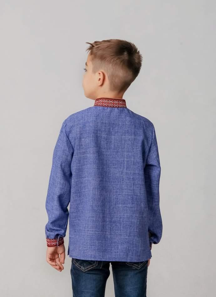 Вышиванка для мальчика (тканая нашивка), арт. 4416