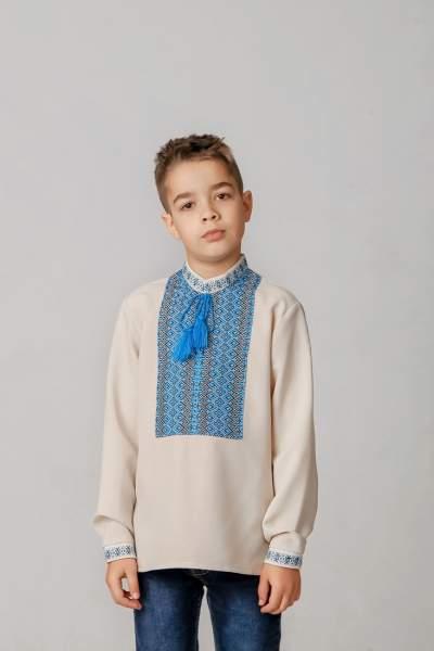Вышиванка для мальчика (тканая нашивка), арт. 4419