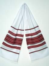 Тканий рушник в українському стилі, №01