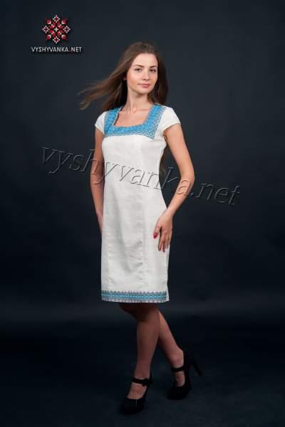 Платье украинская вышиванка, арт. 1011, 42 р.
