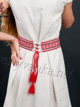 Платье с вышивкой в украинском стиле, арт. 1013
