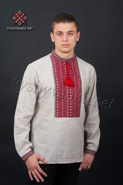 Українська вишиванка чоловіча, арт. 2027