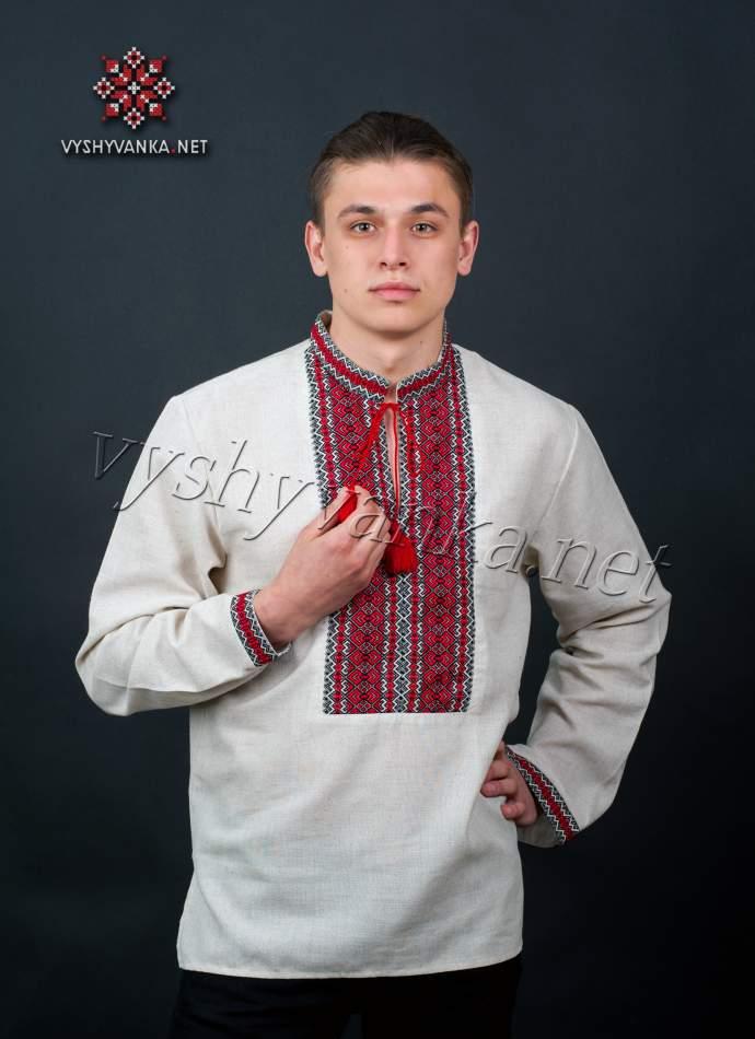 Сорочка-вишиванка чоловіча, арт. 2028