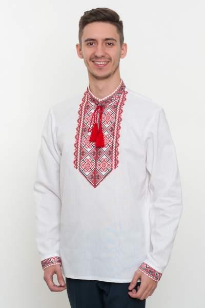 Вишиванка чоловіча біла, арт. 2061