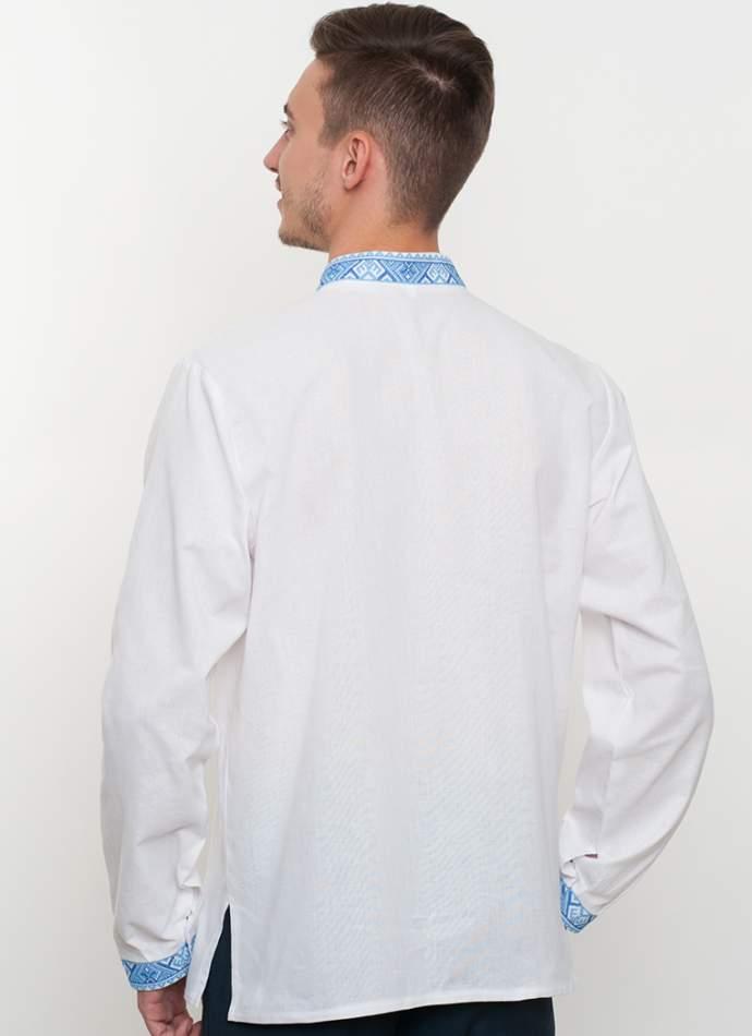 Біла вишиванка чоловіча, арт. 2062