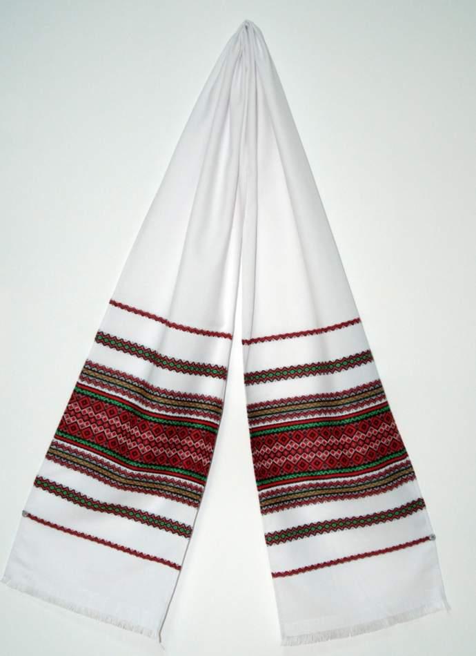 Украинский рушник тканый, №04