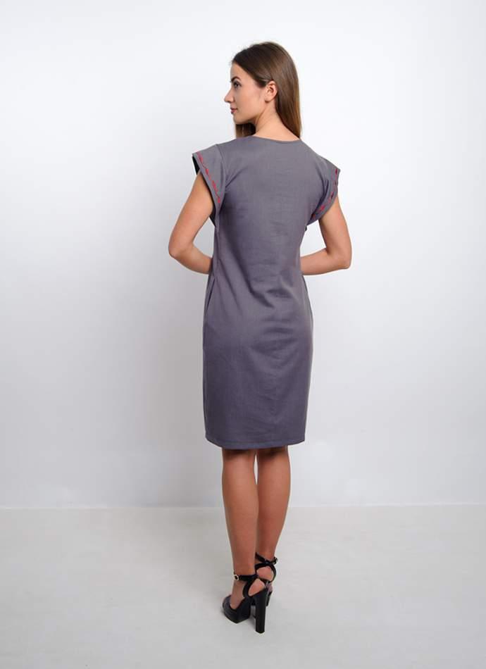 Вышитое платье, арт. 4176