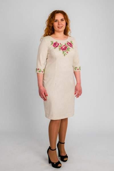 Женское платье больших размеров, арт. 4192