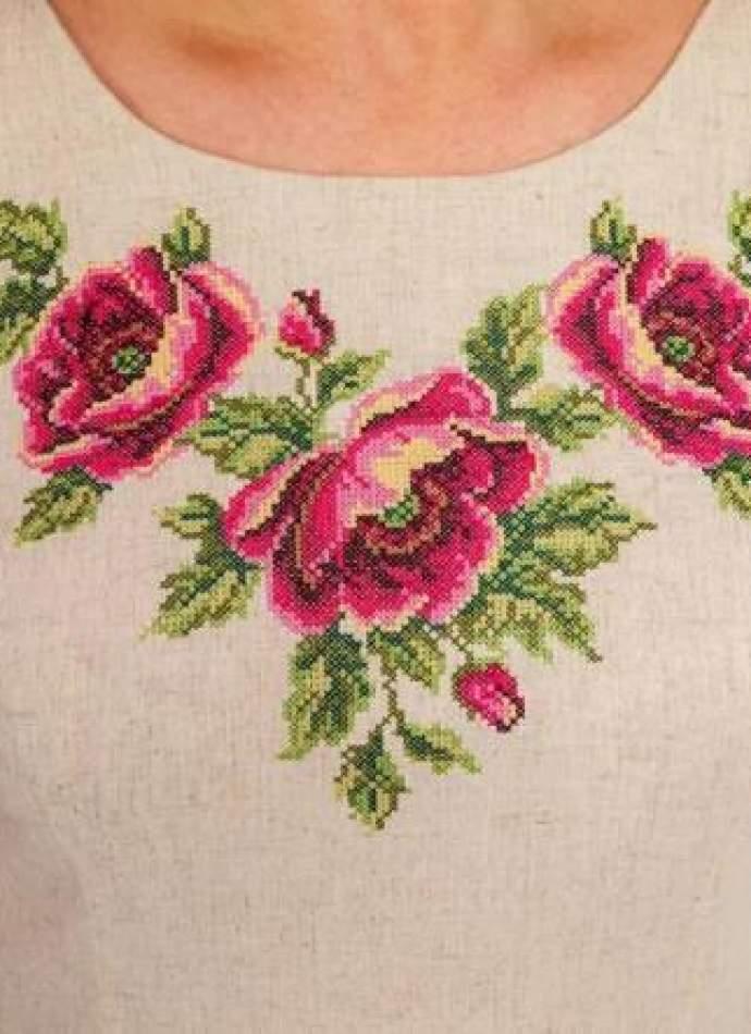 Жіноче плаття великих розмірів, арт. 4192