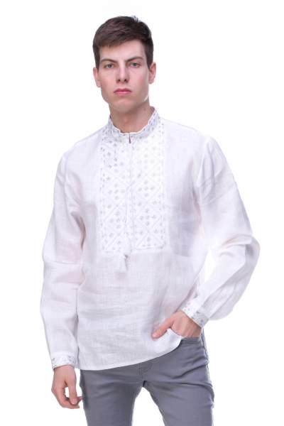 Чоловіча сорочка вишита, арт. 4210-льон