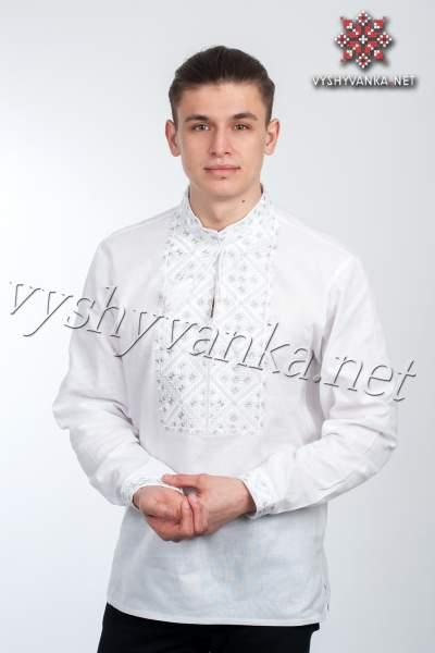 Мужская рубашка вышитая, арт. 4210