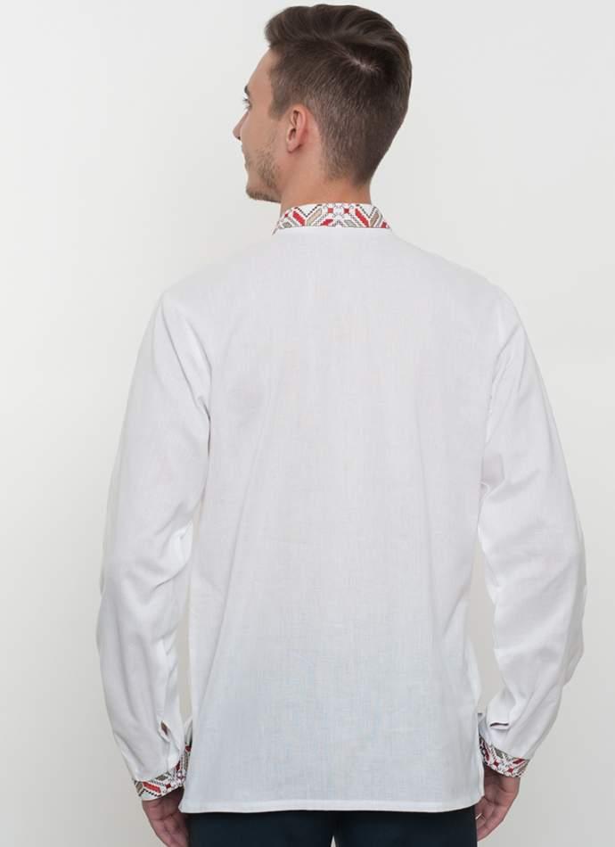 Вышиванка мужская белая, арт. 4222