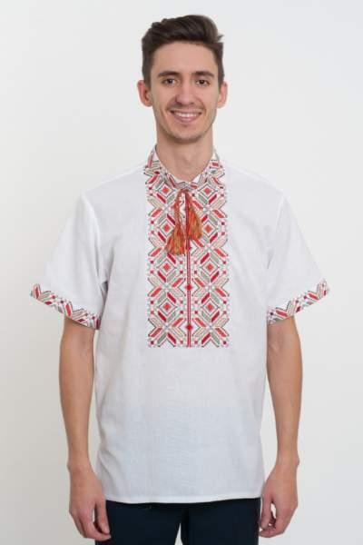 Мужская вышиванка с коротким рукавом, арт. 4222к.р.