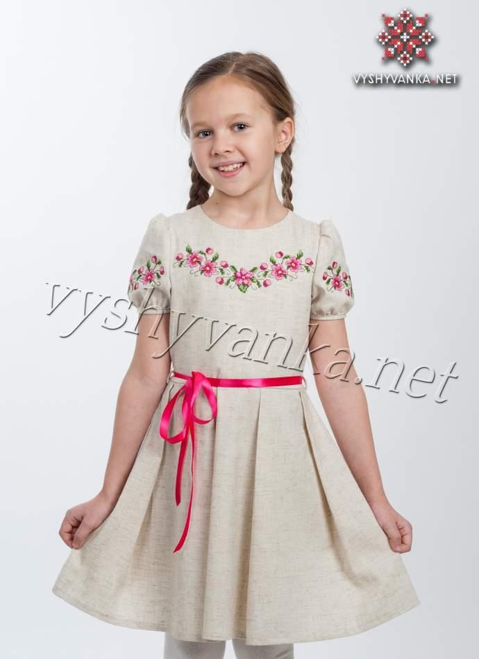 Плаття вишите для дівчинки, арт. 4307