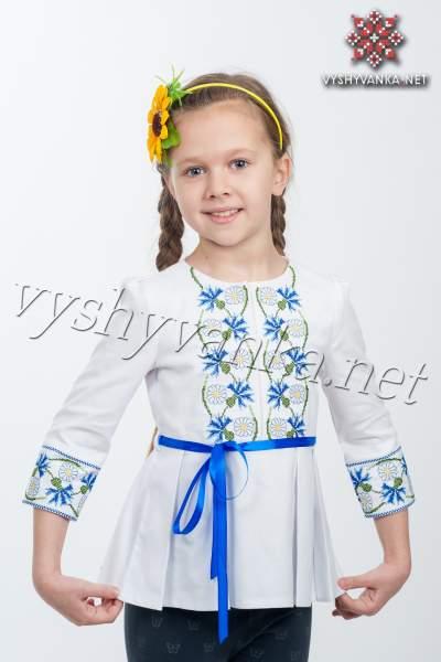 Туника вышиванка для девочки, арт. 4308