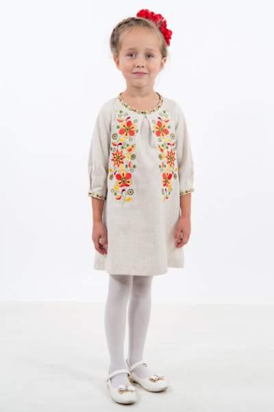 Сукня вишиванка на дівчинку, арт. 4315