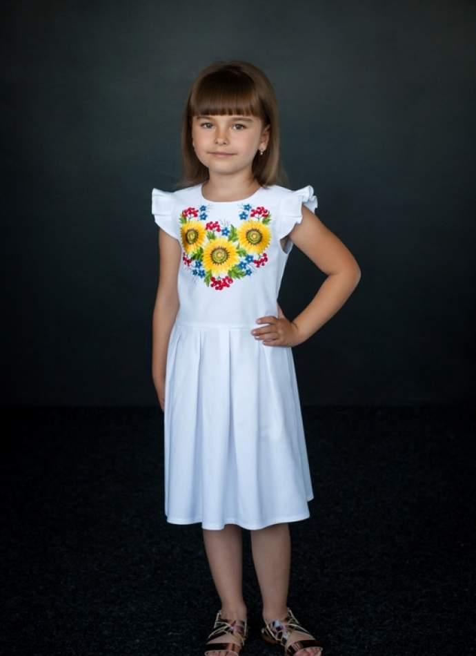 Вишите плаття на дівчинку, арт. 4320
