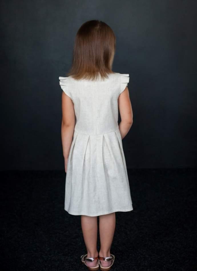Вишита сукня для дівчинки, арт. 4321