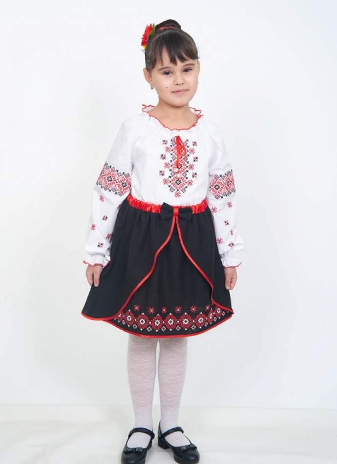 Детская юбка в украинском стиле, арт. 4323