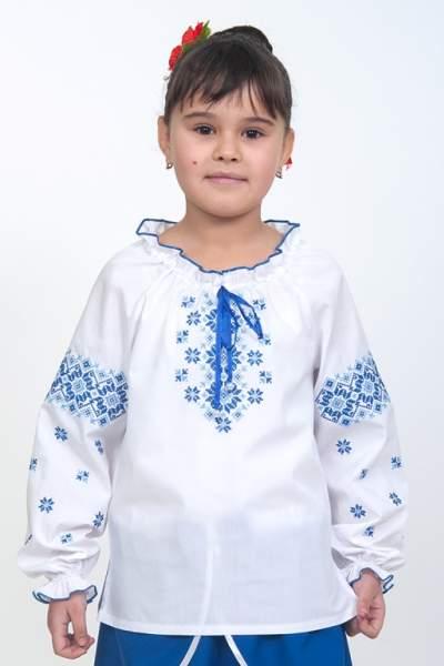 Детская вышитая сорочка в украинском стиле, арт. 4324