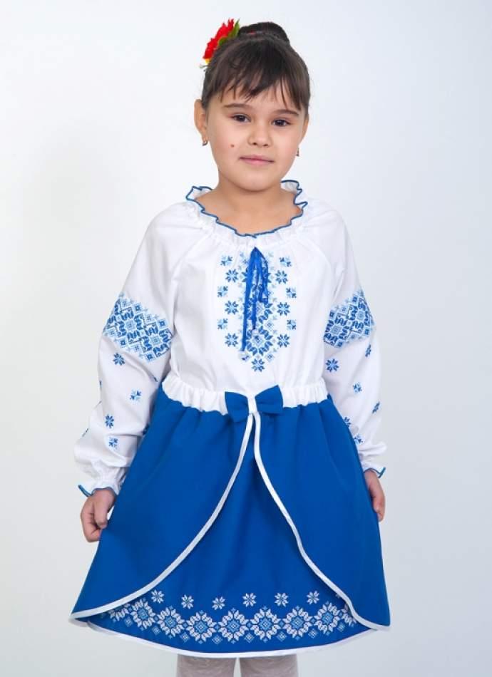 Спідниця з вишивкою на дівчинку, арт. 4325