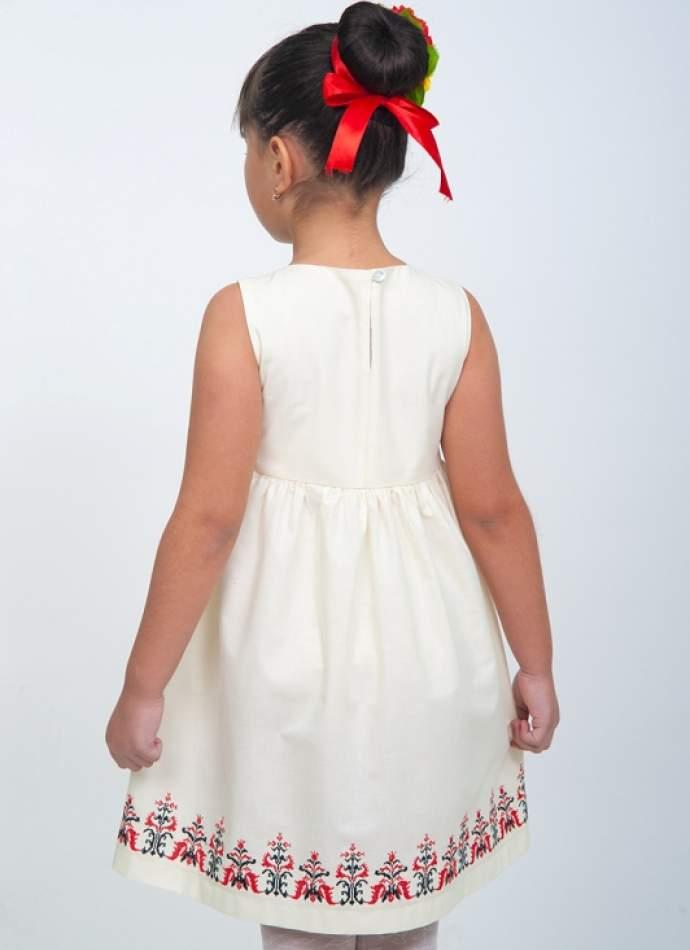 """Вышитое платье для девочки """"Волынская коллекция"""", арт. 4326"""