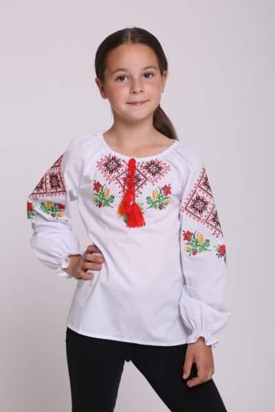 """Вышиванка для девочки """"ромбы"""", арт. 4334"""