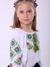 """Вишиванка для дівчинки """"ромби"""", арт. 4335"""