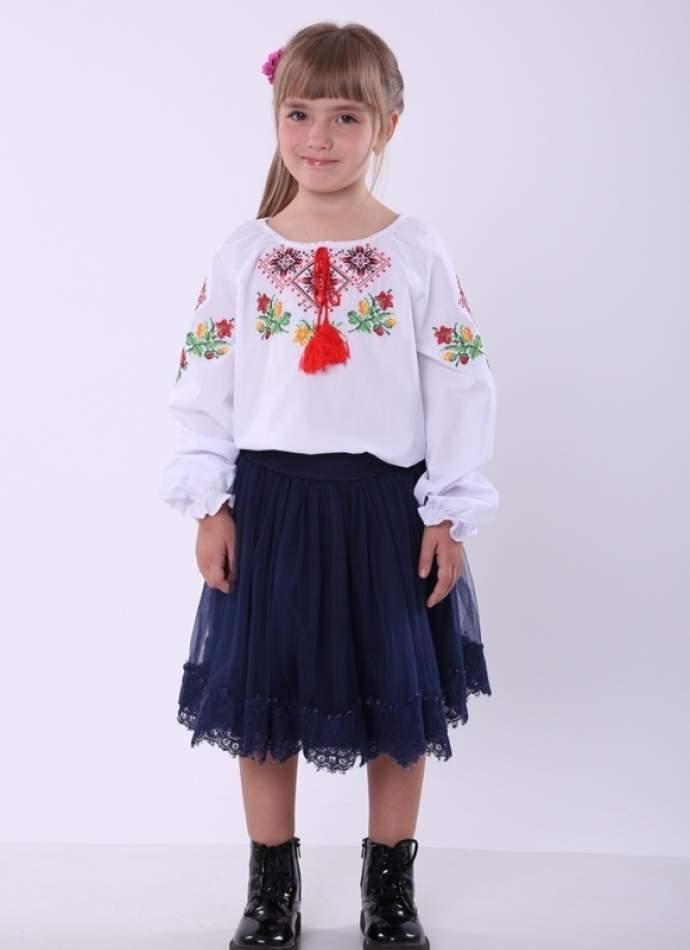 """Вышиванка для девочки """"ромбы"""", арт. 4337"""