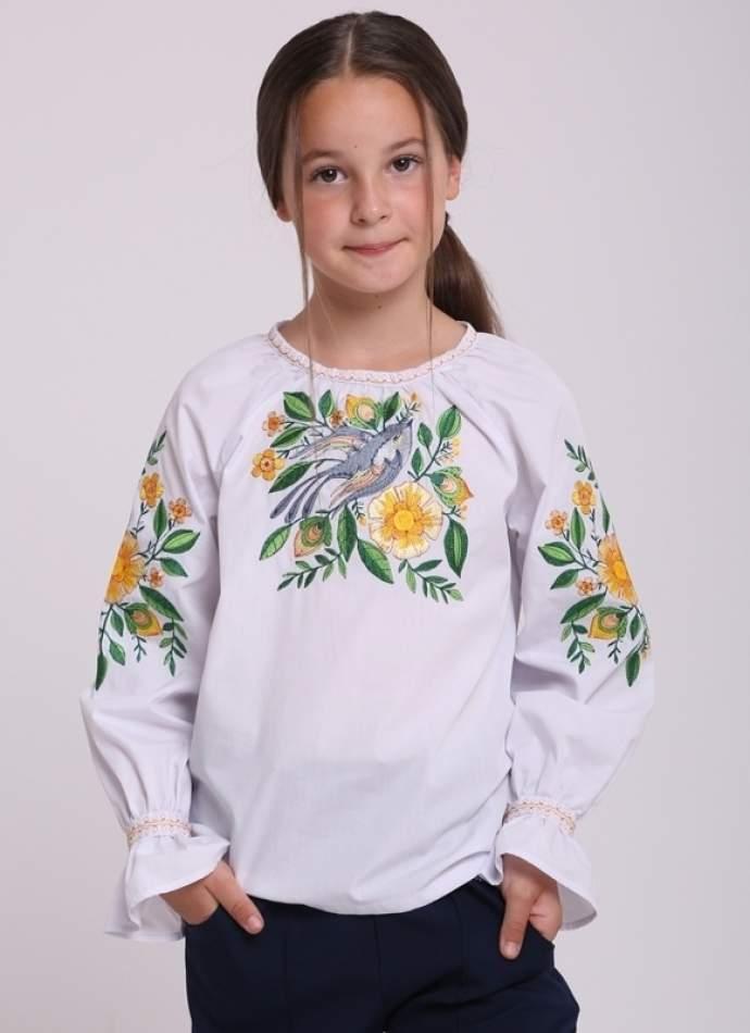 "Вышиванка для девочки ""ласточка"", арт. 4341"