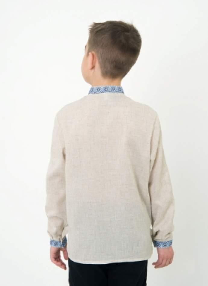 Вишиванка дитяча для хлопчика, арт. 4411сіра