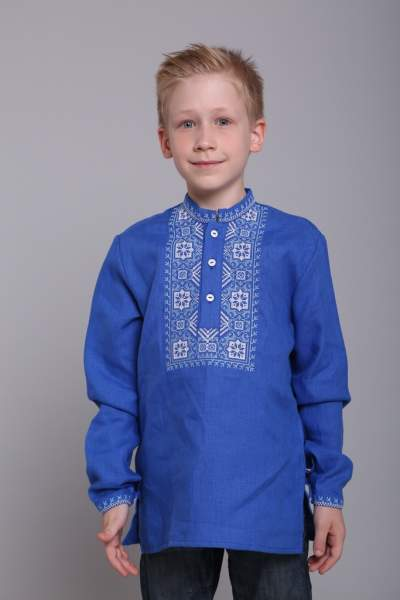 Рубашка на мальчика, арт. 4432