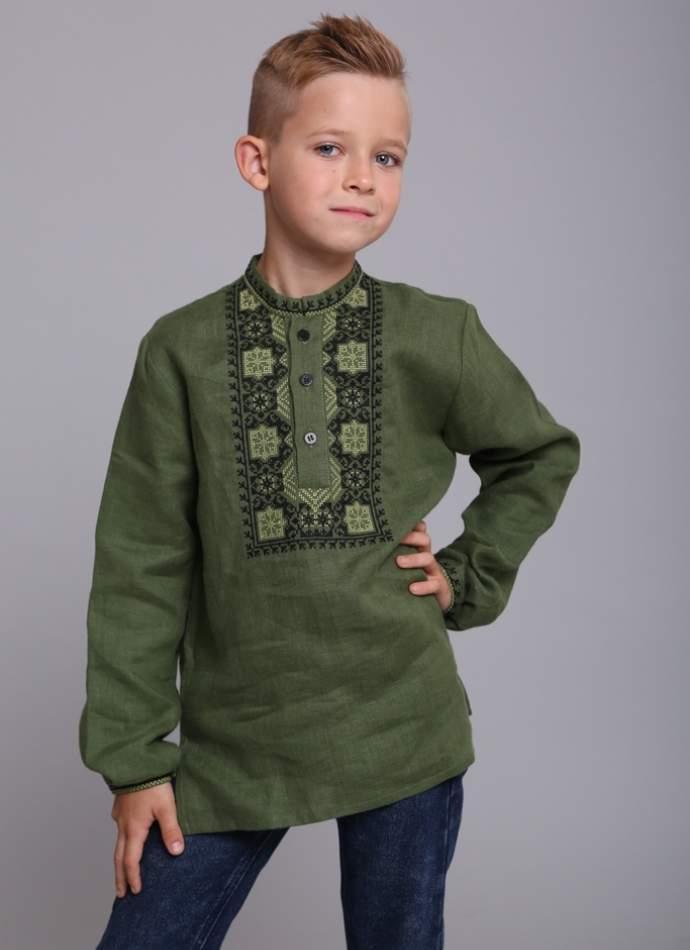Рубашка на мальчика, арт. 4434