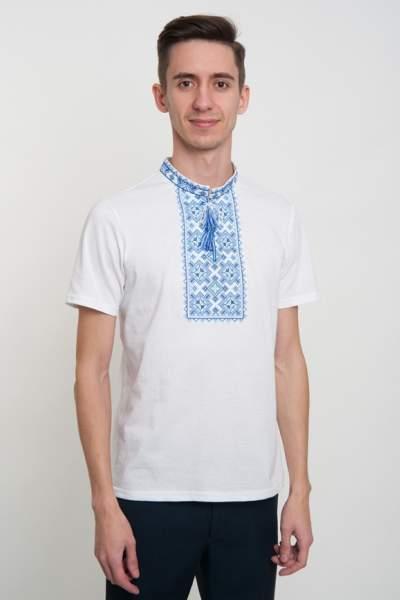 Мужская футболка с вышивкой (вышиванка), арт. 5202