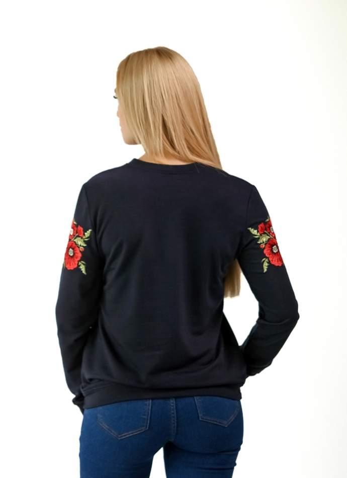 Кофта с вышивкой Горизонт Роз, арт.6103