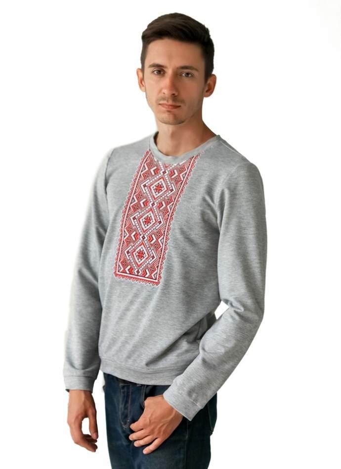 Кофта с вышивкой ВЕРТИКАЛЬ, арт.6203